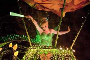 Main Street Electrical Parade -- More than half a million dancing lights and tunes have been taking over Main Street, U.S.A. since 1972. Tinker Bell and friends appear twice a night at 9 and 11 p.m.