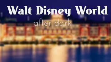 When the sun sets over Cinderella's Castle, it doesn't mean it's time to go home. Walt Disney World offers guests several nighttime experiences at each of the parks.