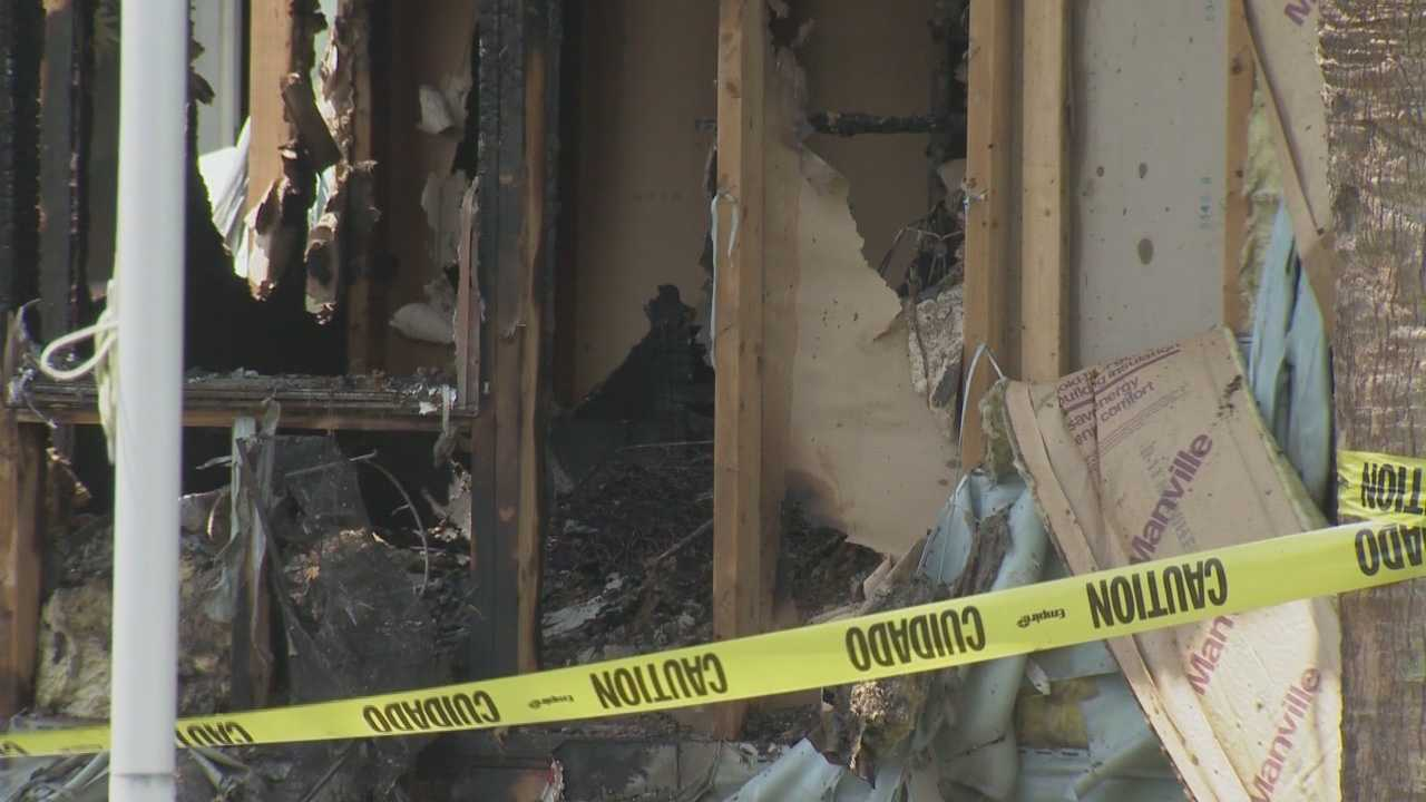 Neighbor says man admitted to setting his father's home on fire