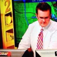 WESH 2 First Alert Meteorologist Eric Burris.