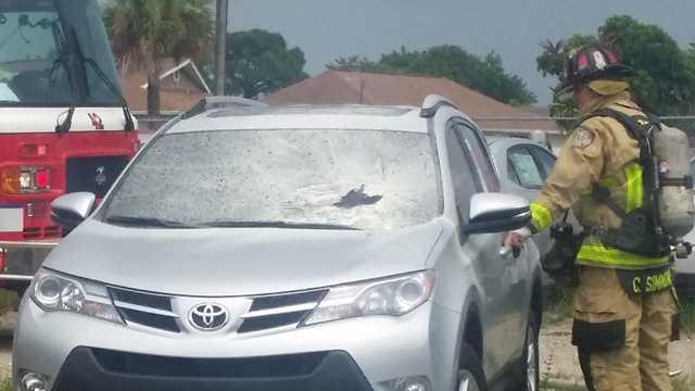 lightning hits Toyota MW 2.jpg