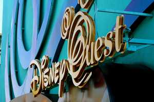 10. Disney Quest Located in Downtown Disney, this arcade is five floors of virtual worlds, 3D encounters and classic video games. Hours: Sunday - Thursday 11:30 a.m. - 10 p.m., Friday- Saturday 11:30 a.m. - 11 p.m.Address: 1780 Buena Vista Dr., Lake Buena Vista, FL 32830
