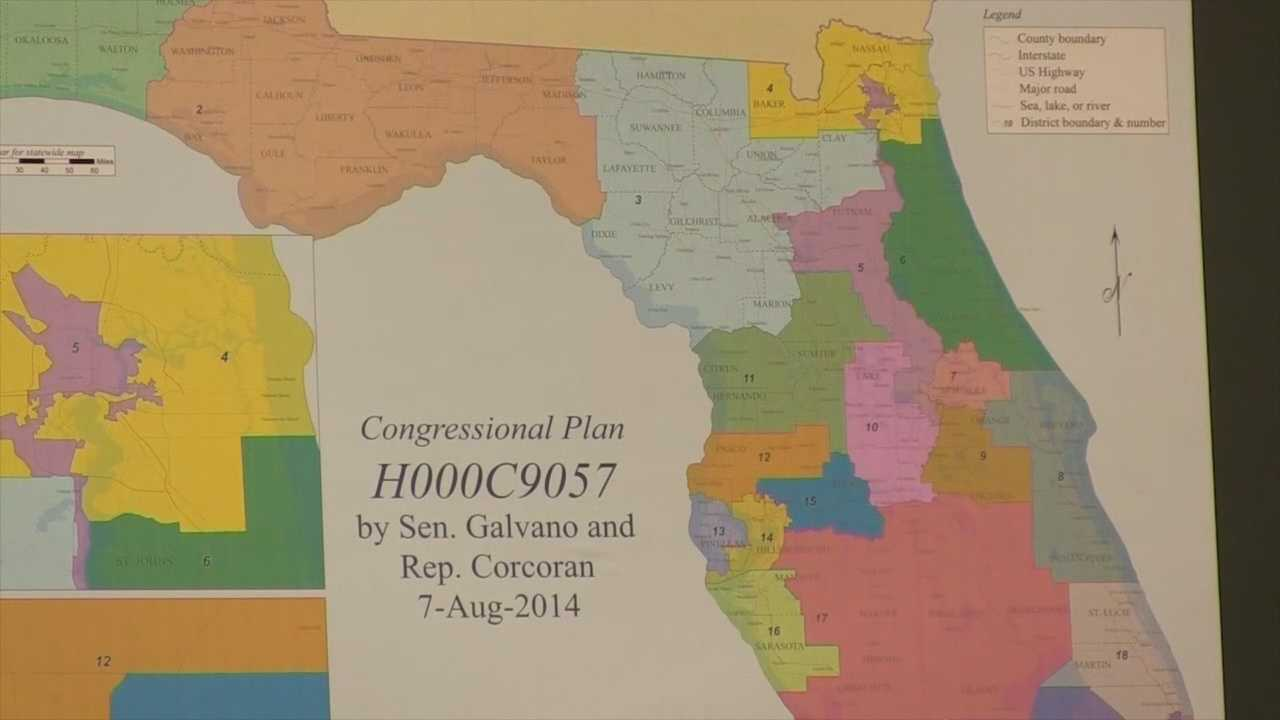 Lawyers duked it out in the courtroom Wednesday over Florida's new congressional maps. WESH 2 Political Reporter Greg Fox explains what it all means for voters.