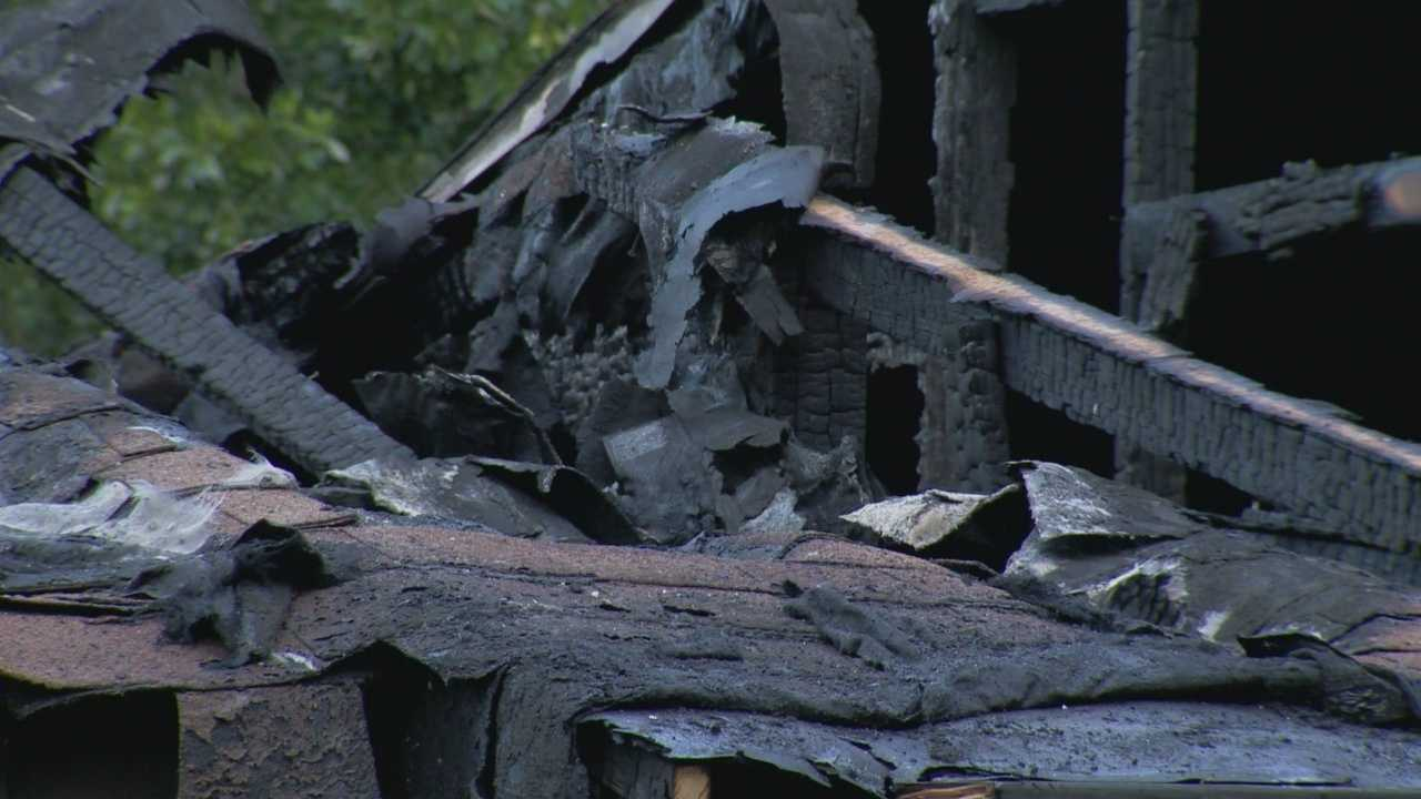 Deputies are investigating the death of a Sorrento woman, who they found inside a burning house in Lake County on Wednesday afternoon.