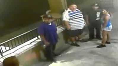 Surveillance video: Deputies search for suspects in baseball bat beating