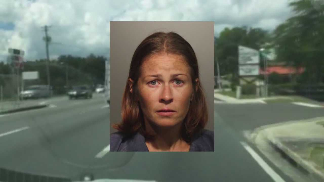 PD: Woman pulls out gun, flashes badge in road rage incident
