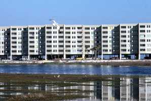 1979: A view of the condominiums in New Smyrna Beach