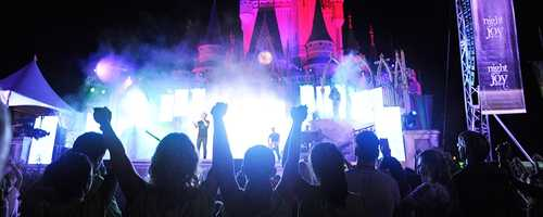3. Night of JoyWhen: September 5-6Where: Walt Disney World's Magic Kingdom What: Jam out to some of the hottest Christian Contemporary superstars in rock, pop and gospel. The artist lineup includes Chris Tomlin, Matthew West, Mandisa, Skillet, Casting Crowns, Mercy Me, Britt Nicole, Colton Dixon and more! Get tickets here.