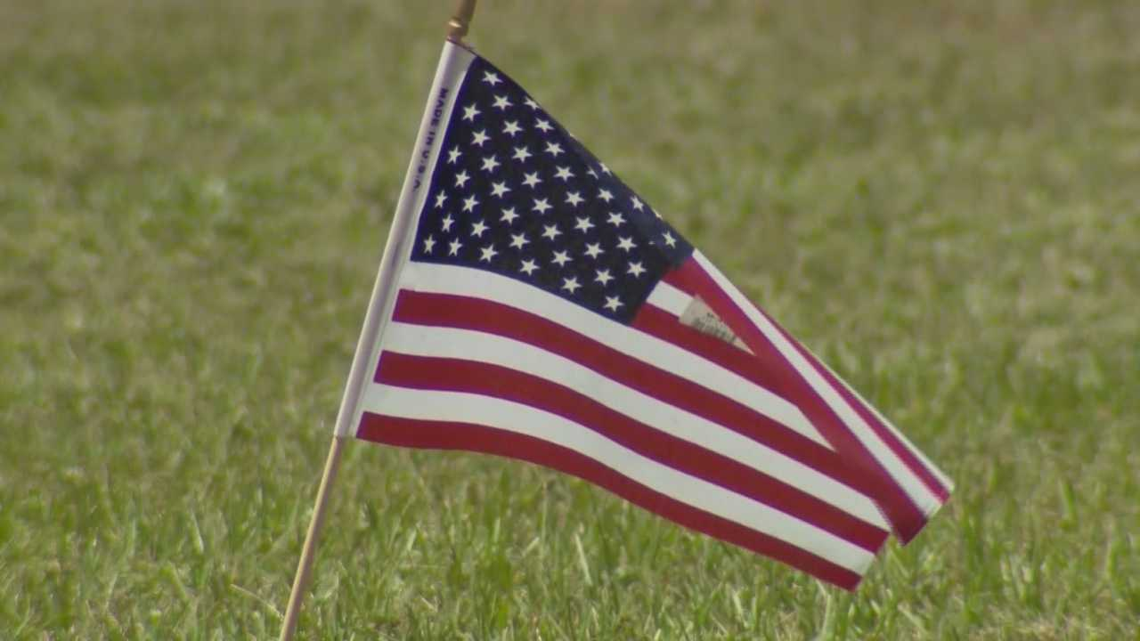 American flags at Umatilla cemetery thrown in dumpster