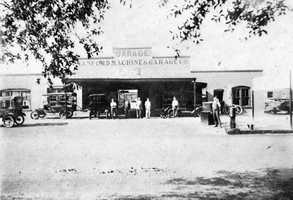 1917: View of the Sanford Machine and Garage Company