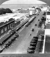 1926: A bird's eye view of First Street in Sanford