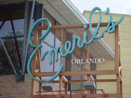 7. Emeril's Orlando at Universal CityWalk You and your date can explore a New Orleans-style dining atmosphere while overlooking Universal Orlando's CityWalk. Address: 6000 Universal Blvd., Orlando, FL 32819