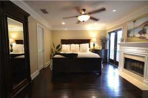 Alternate view of the spacious master suite.