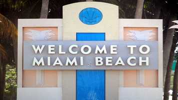 1. Miami Beach, FLPopulation: 91,066Violent Crimes: 10.33 per 1,000 residentsProperty Crimes: 99.14 per 1,000 residentsTotal Reported Crimes: 109.47 per 1,000 residents