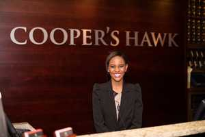 This new Cooper's Hawk Winery & Restaurant is located at 8005 International Drive in Orlando.