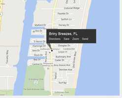 Briny Breezes, Fla. is located in Palm Beach County.