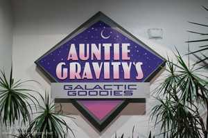 15. Auntie Gravity's Galactic GoodiesAddress: Disney's Magic Kingdom, Tomorrowland When your sweet tooth acts up while journeying through Walt Disney World, beam over to Tomorrowland and stop by Auntie's Gravity's Galactic Goodies. You will find soft-serve cones, sundaes, floats made with soda or iced coffee, smoothies muffins and more.
