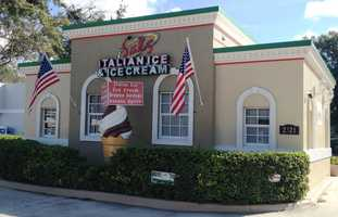 4. Sal's Italian IceAddress: 2521 S. French Ave., Sanford, FL 32773Sal's serves up homemade Italian Ice, soft serve ice cream, hand dipped ice cream, gelatis and sundaes.  You won't run out of options either! With over 21 toppings to choose from, which is over 8,000 combinations, there will be something to satisfy everyone's sweet tooth.