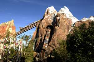 1. Expedition Everest - Disney's Animal Kingdom