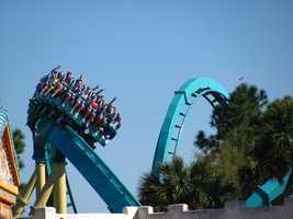 7. Kraken - SeaWorld