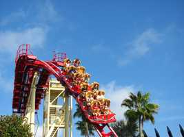 5. Hollywood Rip Ride Rockit - Universal Studios