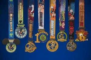 A look at all of the medals.