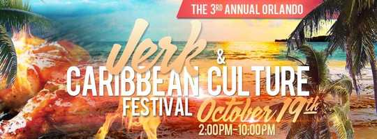 1. Orlando Jerk & Caribbean Culture FestivalWhen: Oct. 19, 2 p.m to 10 p.m.Where: Central Florida Fairgrounds, 4603 W. Colonial Dr., Orlando, FL 32808Admission: $25 for presold tickets online, $35 at the gate, visit EventBrite.com for pricing/tickets Activities: Try out lots of exotic cuisine, indulge in refreshing tropical drinks and enjoy live reggae music with friends and family.