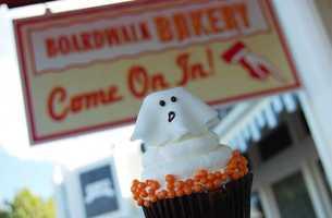 Ghost Cupcake - Boardwalk Bakery