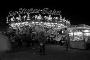 1984: A ride at the North Florida Fair.