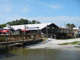 7. JB's Fish Camp Seafood RestaurantWhere: 859 Pompano Ave., New Smyrna, FL 32169After a day of Kayaking and Paddleboarding, have a seat on the patio of JB's Fish camp, listen to live music and snack on some alligator, blackened, fried or Cajun fried. Happy Hour is Monday – Friday 4 p.m. – 6 p.m. on all drafts, bottle beer, well drinks and wine.