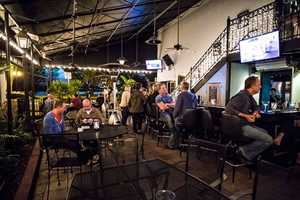 5. Hammered LambWhere: 1235 N. Orange Ave., Orlando, FL 32804Grab a lamb gyro and hang out on this patio bar. Happy hour is Monday through Friday 4-7 p.m., trivia night is on Tuesdays from 6-8:30 p.m.,and there is live music every Friday from 5-8 p.m. If you stop by this spot on the weekend, be sure to try out brunch and the bloody Mary bar.