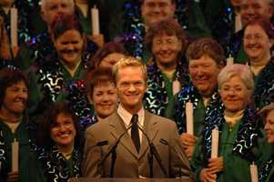 """Neil Patrick Harris, the Emmy Award-nominated star of the hit television series """"How I Met Your Mother,"""" is a guest narrator for the Candlelight Processional at Epcot."""