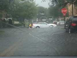 Flooding in Baldwin Park