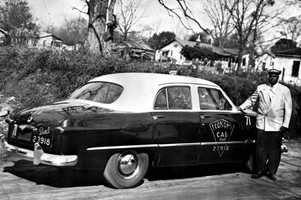 Seth Gaines drove an independent taxi in the 1940s and 50s. In response to demands from civil rights activists during the bus boycott, he became the first African American to drive buses for the Tallahassee City Transit on a regular route.