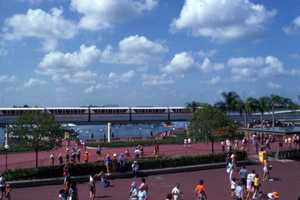 View of the monorail