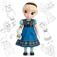 From Frozen - Disney Animators' Collection Elsa doll.