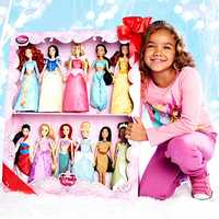 Disney Princess doll collection.