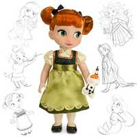 From Frozen - Disney Animators' Collection Anna doll.