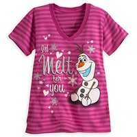 Olaf striped tee for women - $19.95