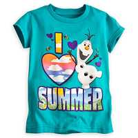Olaf tee for girls - $12.95