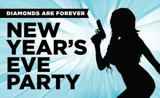 """2. Enzian's New Year's Eve PartyEnzian is celebrating with its annual James Bond theme. James Bond and Bond Girl outfit is encouraged and the best outfits will win a prize. Cocktails will be flowing all night long.Cost: $25 in advance, $30 at the door5:30 p.m. – 8 p.m. - Doors Open for VIP Film Screening of """"Diamonds are Forever"""" (Film starts at 6 p.m.)8 p.m. – 2 a.m. - Party kicks off with General Admission Entry & DJ spinsEnzian VIP table for two: $200, includes 1 bottle of champagneEnzian VIP table for four: $400, includes 2 bottles of champagneVIP also includes:- Reserved tables in private section-VIP-only bar- Light appetizers- Special dinner menu- Private access to indoor movie screening\Address:1300 S. Orlando Ave., Maitland, FL 32751"""