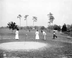 1905 - Group golfing in DeLand