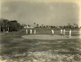 1925 - Melbourne Golf and Country Club in January