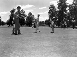 1953 - Golfers at Pee Wee Golf Tournament in Orlando