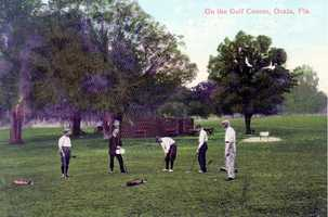 Early 1900s - Golf in Ocala