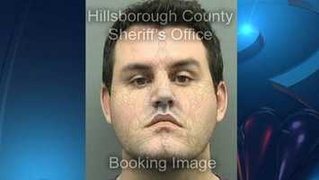 John Jonchuck arrested Jan. 29, 2013 on domestic battery charge