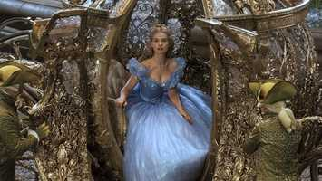 "3. Sneak peek of new ""Cinderella"" film at Disney's Hollywood StudiosWhen:  Saturday & Sunday (and through March 17)Where: Disney's Hollywood Studios, outside movie theater facade on Streets of America Cost: Included in park admission Beginning on Jan. 17 and until March 21, an exclusive preview of Disney's ""Cinderella"" will be available at Disney's Hollywood Studios. The film doesn't arrive in theaters until March 13.Guests will also have the one-of-a-kind opportunity to get up close to the original gold coach that is seen in the Disney film. It will be on display outside the movie theater facade on Streets of America. The coach will be featured at the park from Feb. 1 through April 11."