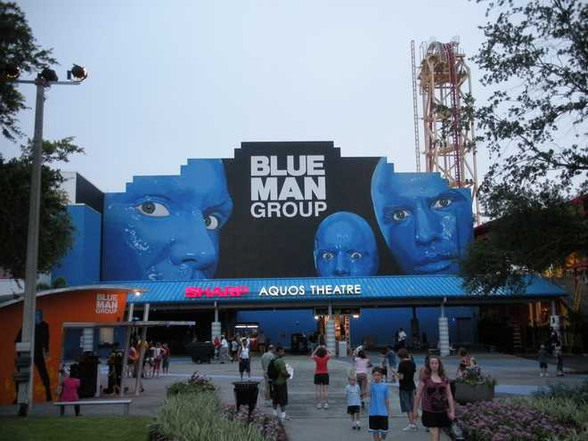 blue man group bathroom song maybe should