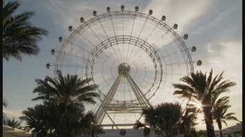 A big tourism announcement was delivered on Tuesday concerning the grand opening of three new International Drive attractions, including the Orlando Eye.