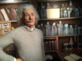 3. Albert Einstein -German-born physicist and philosopher of science